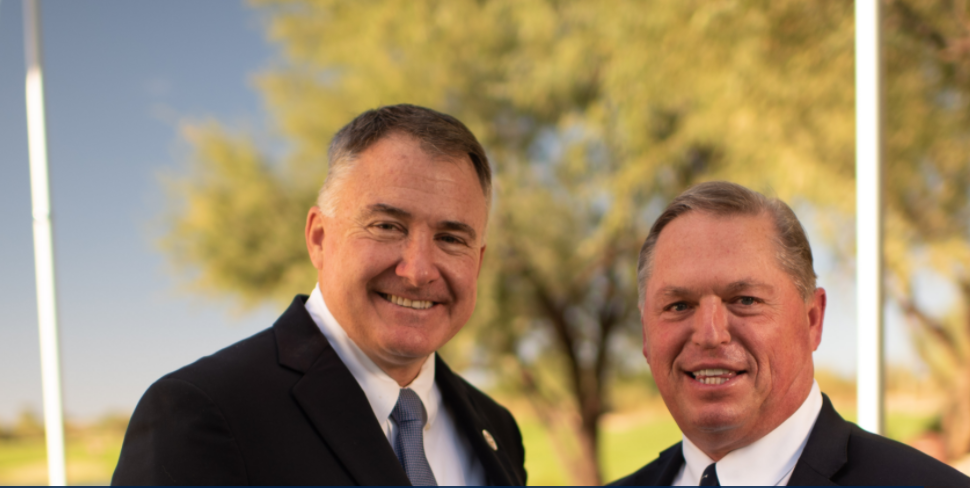 Jim Richerson, left, and Don Rea have been appointed President and secretary respectively of the Professional Golf Association of America ©PGA of America