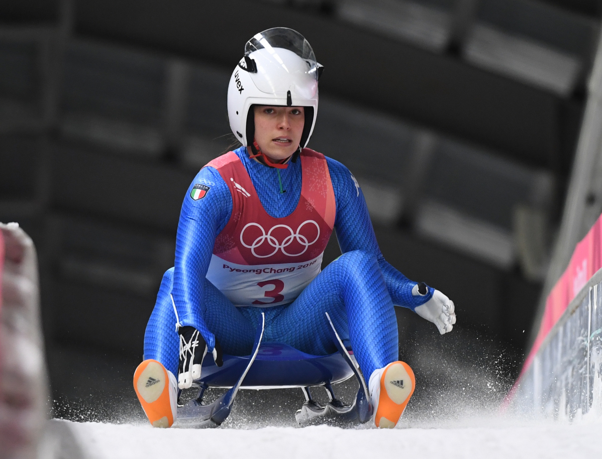 Sandra Robatscher competed at the Sochi 2014and Pyeongchang 2018 Winter Olympics ©Getty Images