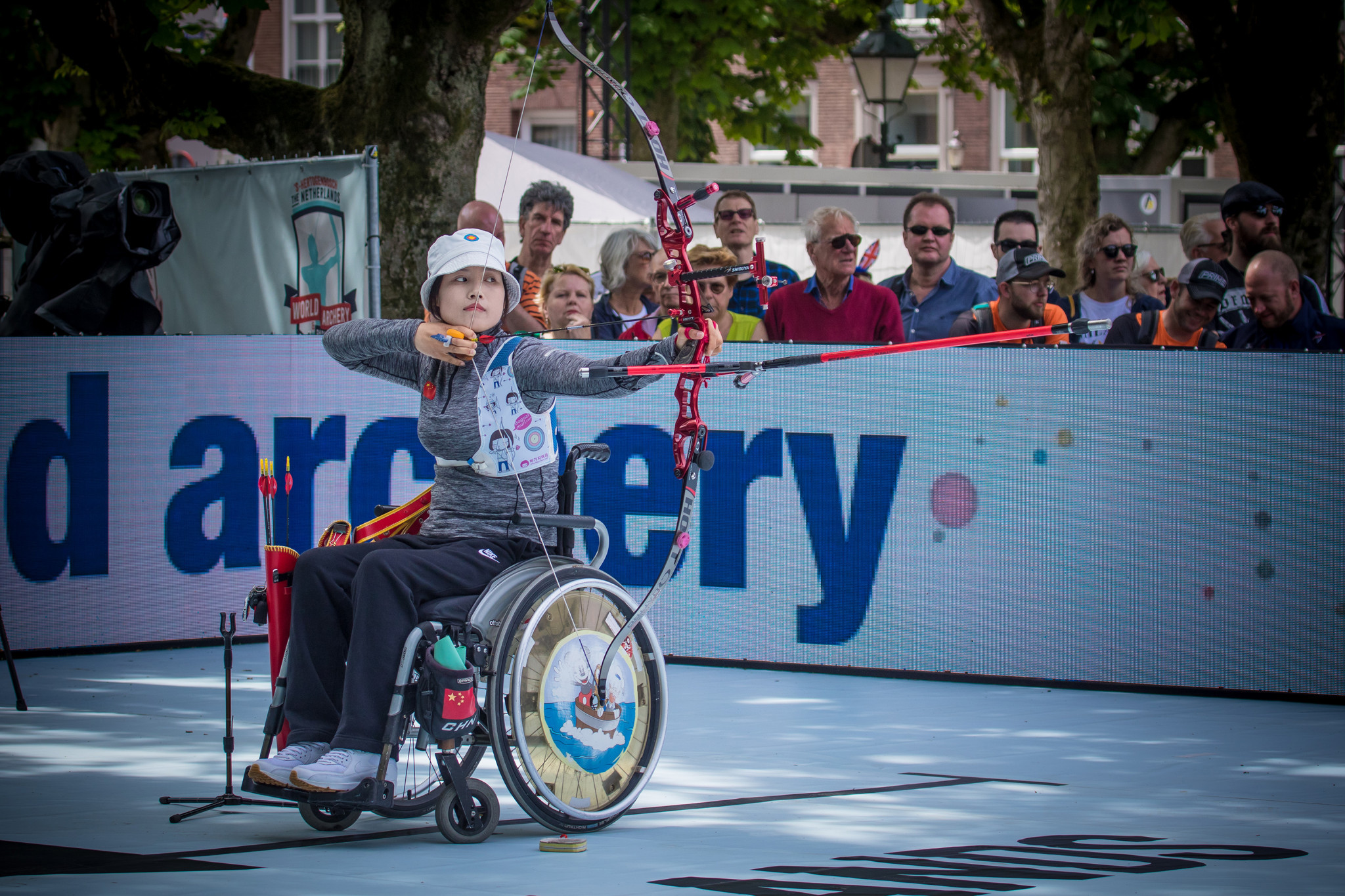 The 2019 World Archery Para Championships were held in 's-Hertogenbosch ©Getty Images