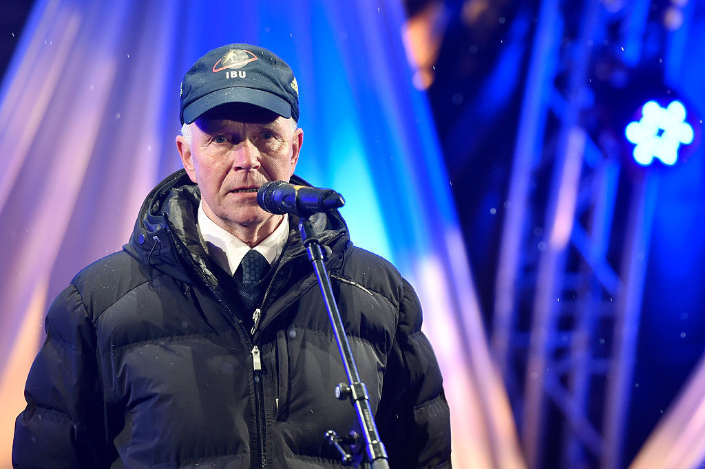 Former IBU President Anders Besseberg was not interviewed but the ERC received a statement ©Getty Images