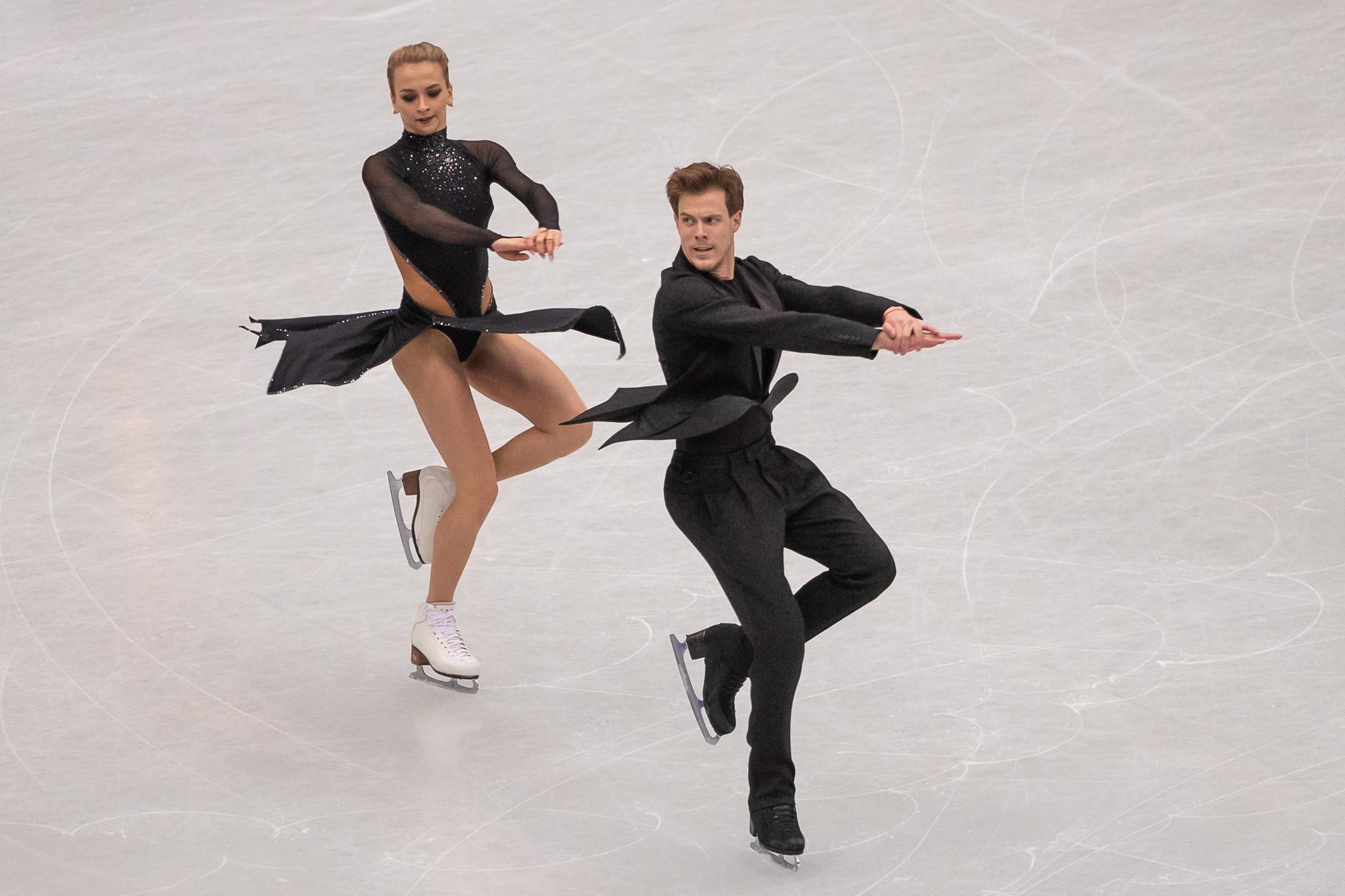 Victoria Sinitsina and Nikita Katsalapov have been hampered by injures so far this season ©Getty Images