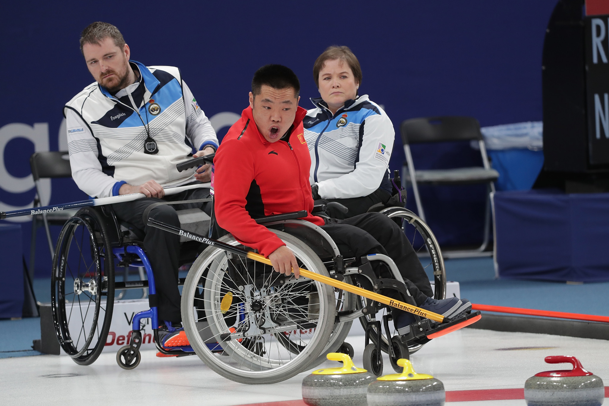 The World Wheelchair Curling Championship has been postponed after test events for the Beijing 2022 Winter Paralympic Games were cancelled ©Getty Images