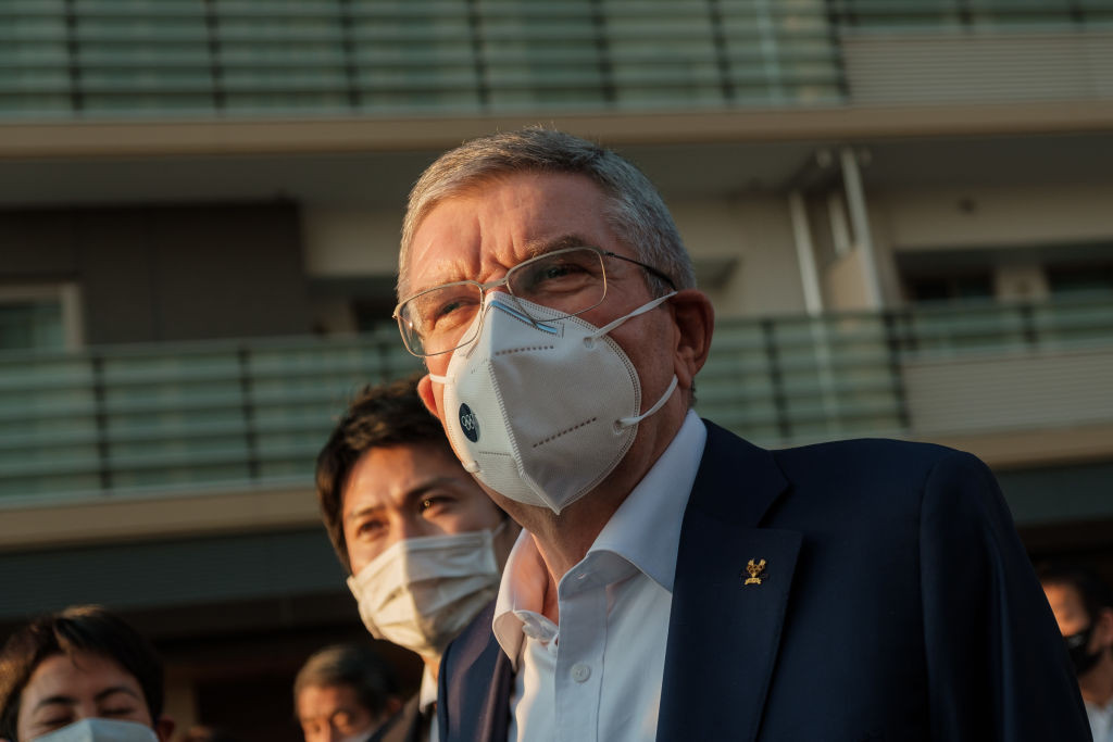 Thomas Bach has claimed no IOC rules were broken in transactions between Haruyuki Takahashi and Tokyo 2020 ©Getty Images