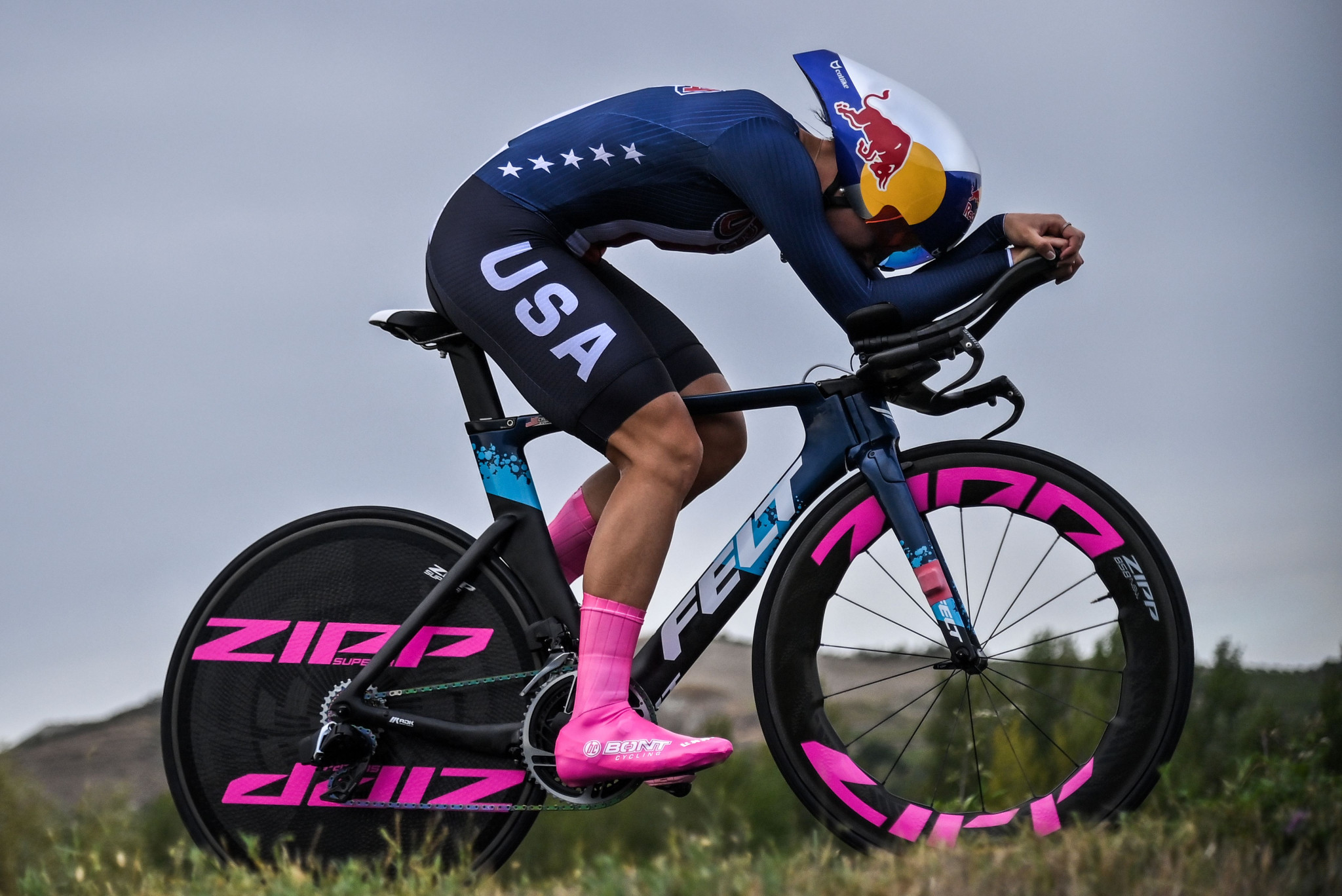 Chloé Dygert is looking to secure gold in the time trial and the team pursuit at Tokyo 2020 ©Getty Images