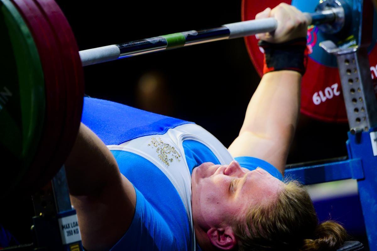 Muratova sets new world record at World Para Powerlifting World Cup in Dubai
