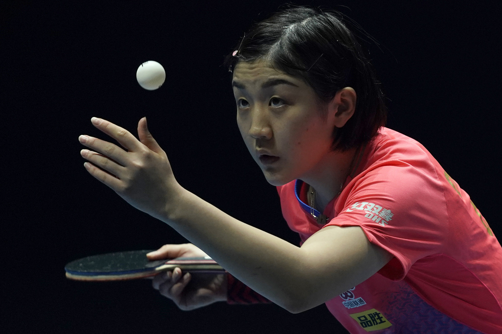 Chen Meng remains the women's singles world number one ©Getty Images