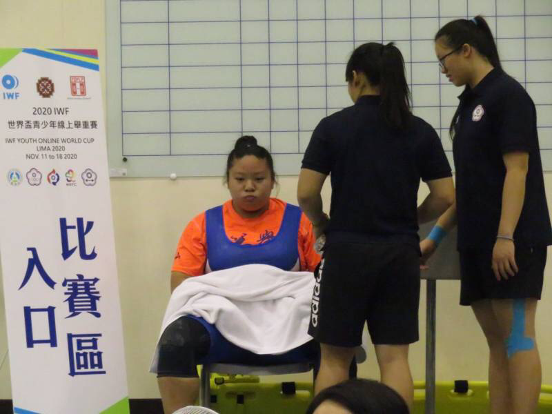 Chinese Taipei's athletes competed in the middle of the night ©Chinese Taipei Weightlifting