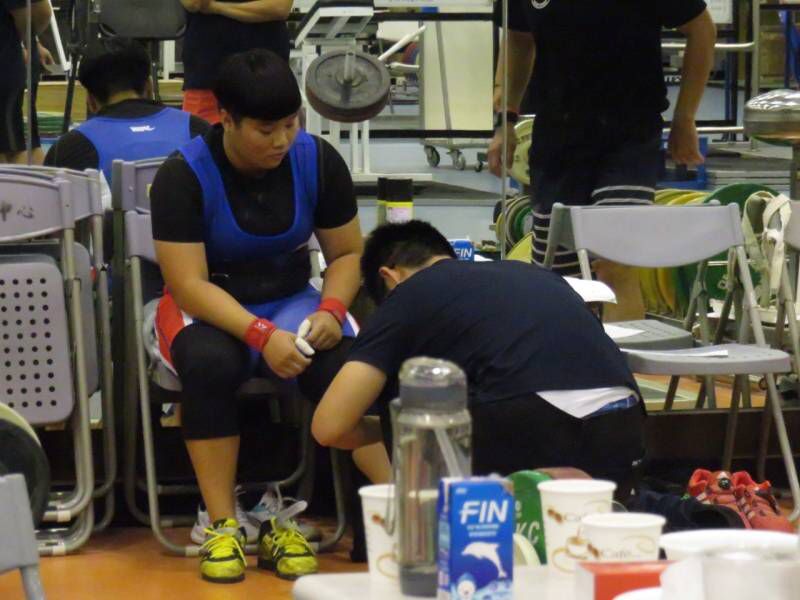 Although the nation won five silver medals and a bronze, Chinese Taipei could not win gold on the final day of competition ©Chinese Taipei Weightlifting