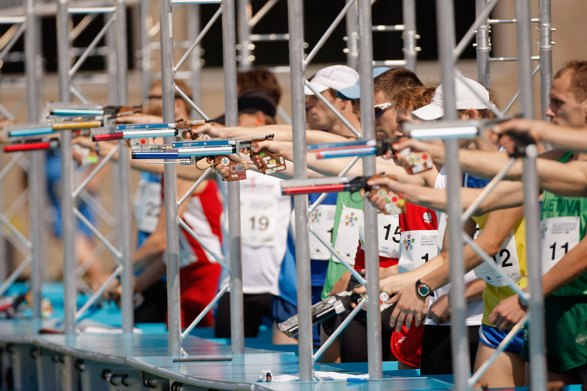 Plans to condense modern pentathlon into a 90-minute event have been revealed ©Getty Images