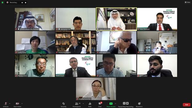 APC Executive Board discusses new strategic plan and upcoming Games at virtual meeting
