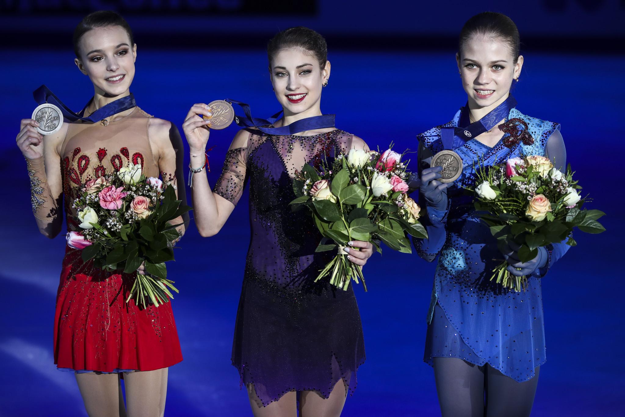 Prodigies Kostornaia, Shcherbakova and Trusova set to lock horns at Moscow Grand Prix of Figure Skating event
