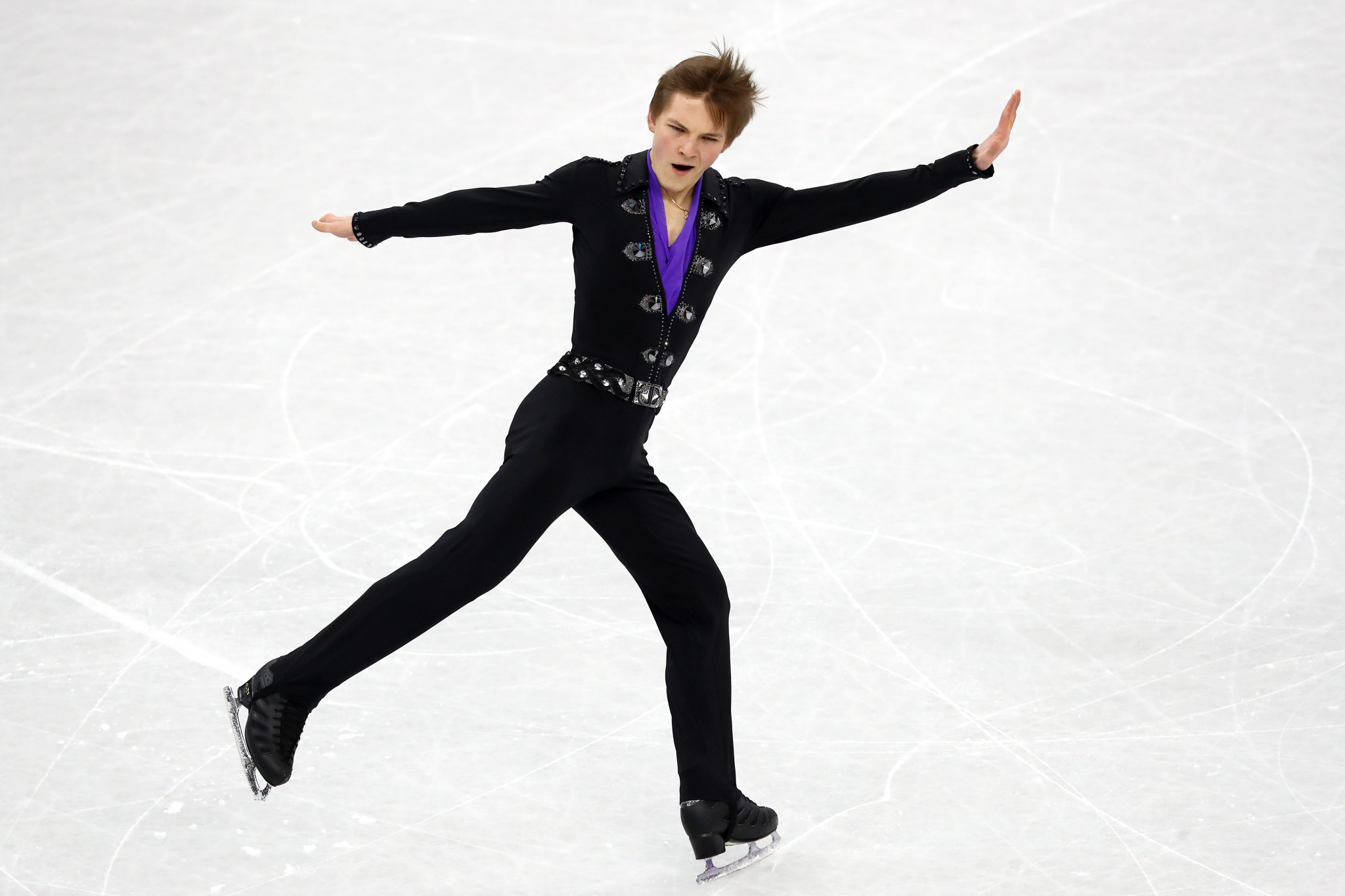 Mikhail Kolyada is among the favourites in the men's event at the Rostelecom Cup in Moscow ©Getty Images