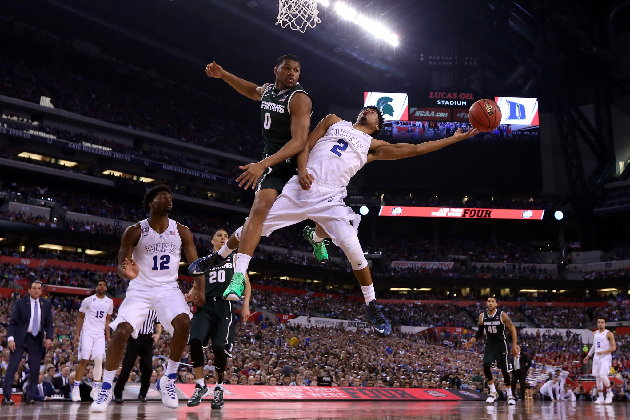 Indianapolis was already slated to host the Final Four in 2021, having last done so in 2015 ©Getty Images