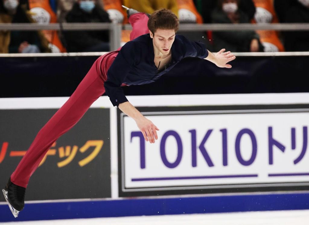 Kvitelashvili stars at Moscow Grand Prix of Figure Skating event as Shcherbakova pulls out