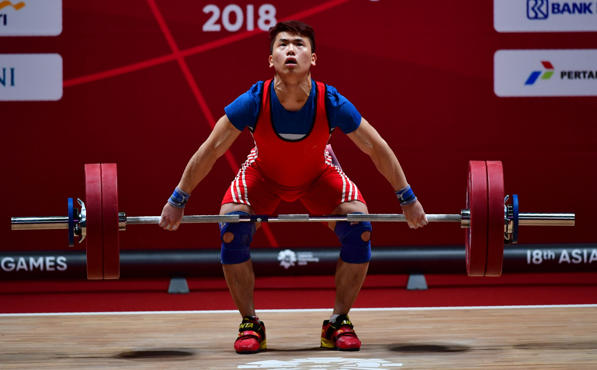 Trinh Van Vinh, a Vietnamese weightlifter who won multiple medals was one of two positive tests in 2019 ©Getty Images
