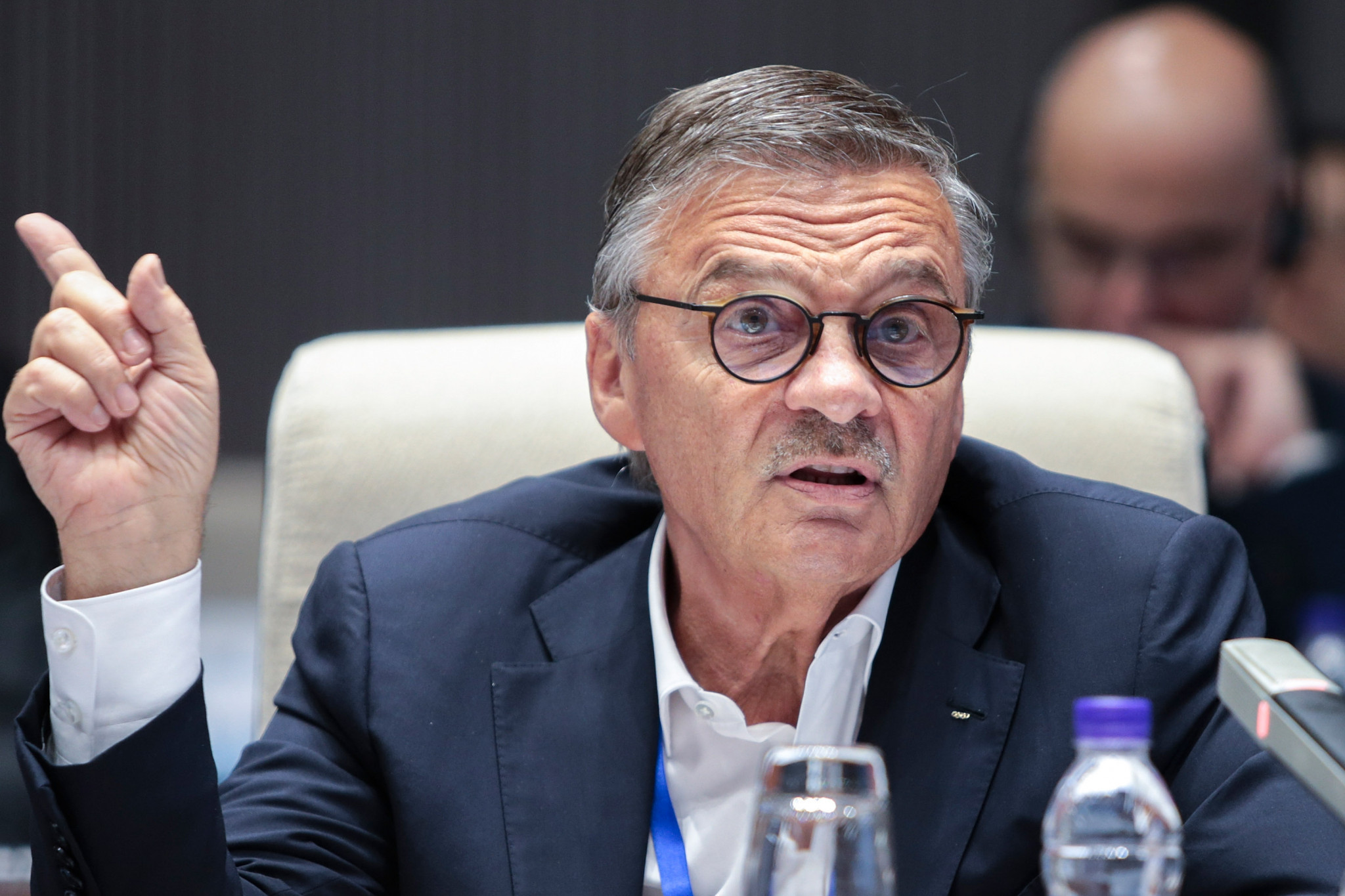 IIHF President René Fasel is reportedly set to hold talks over moving the 2021 World Championship to Moscow ©Getty Images