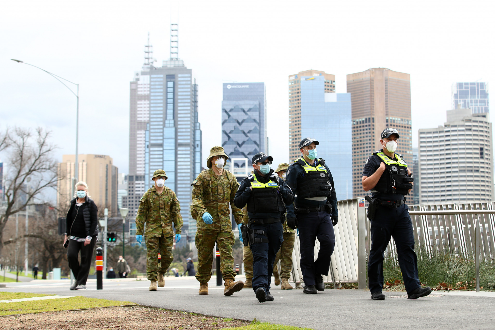 Melbourne only recently exited a four-month lockdown ©Getty Images