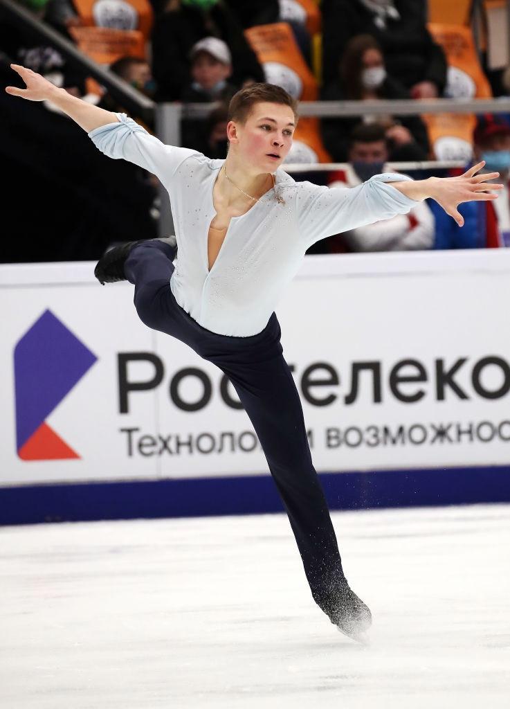 Kolyada makes golden return at Moscow Grand Prix of Figure Skating event