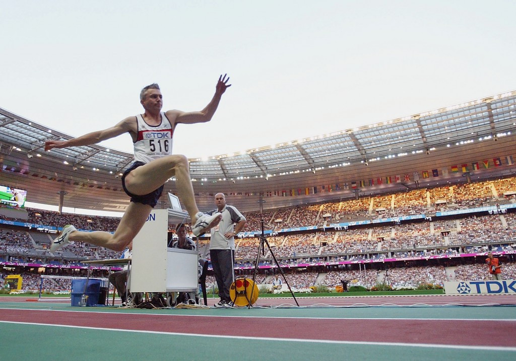 Jonathan Edwards is the world record holder in the triple jump