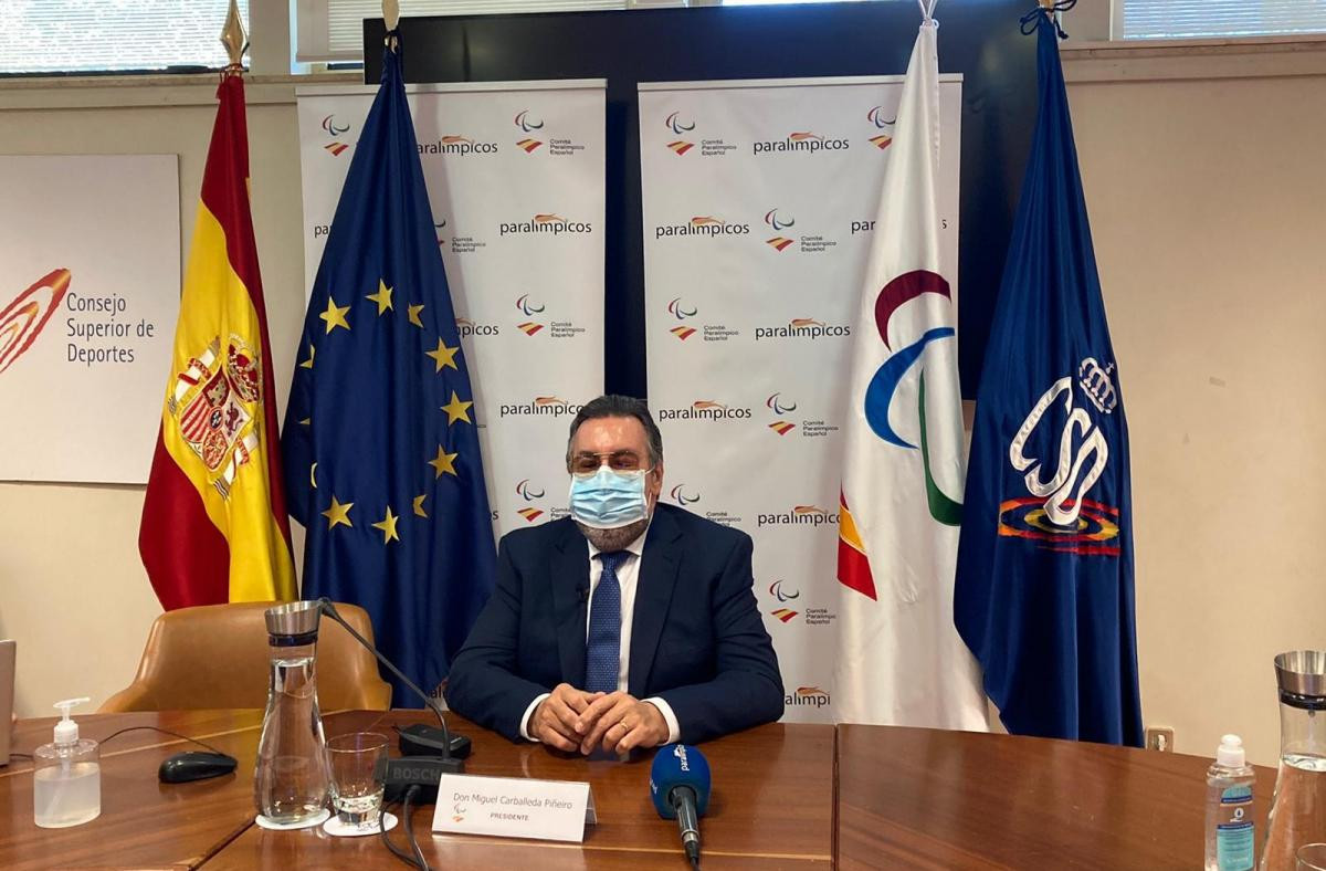 Carballeda re-elected Spanish Paralympic Committee President