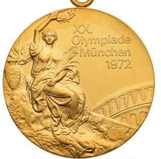 Olympic gold medal from famous Soviet Union basketball victory over US at Munich 1972 for sale on eBay