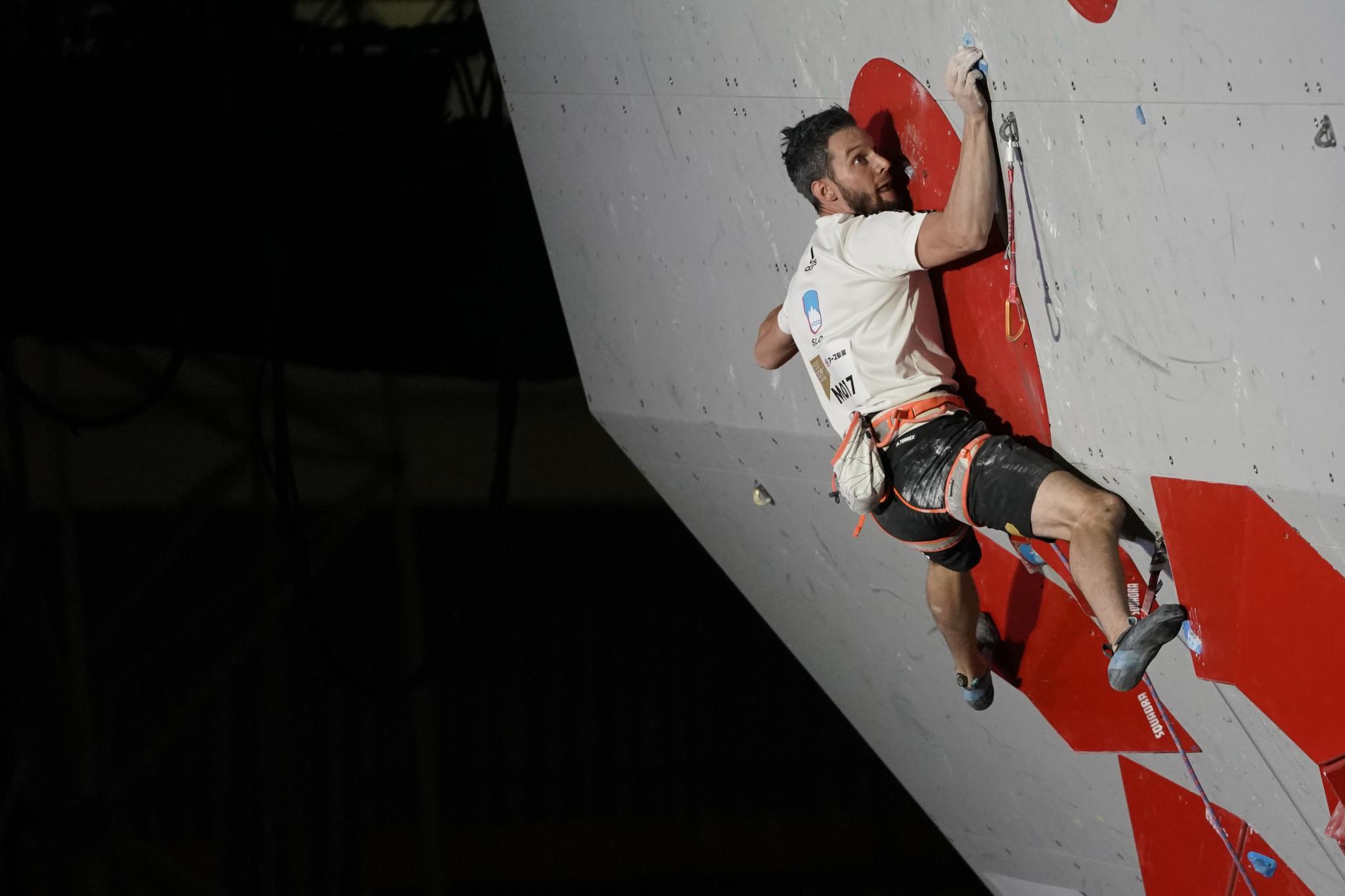 Kruder claims men's bouldering title at the IFSC European Championships