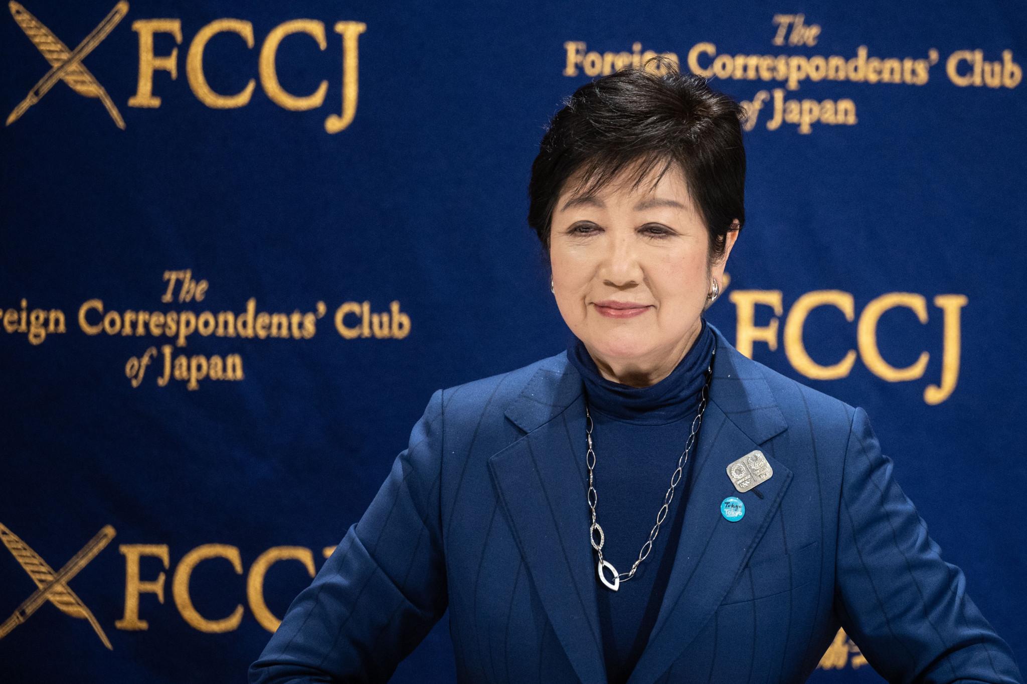 "Koike reveals hope of Tokyo 2020 ""with full spectators present"""