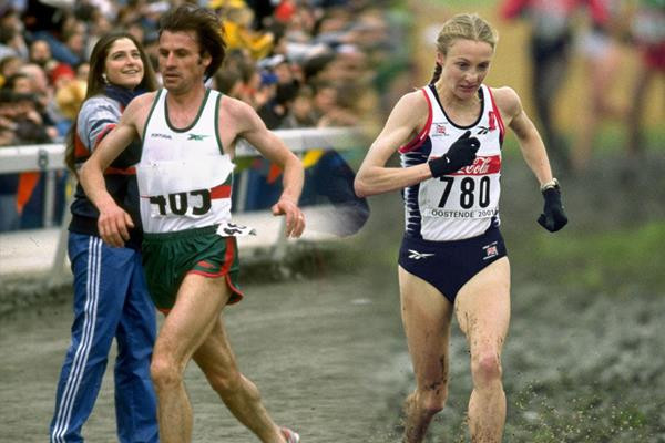 Radcliffe and Lopes donate spikes and vest to World Athletics Heritage