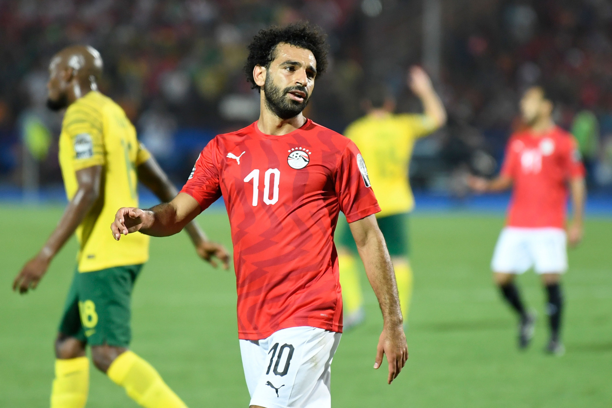Mohamed Salah would be a key player in Egypt's team if selected ©Getty Images