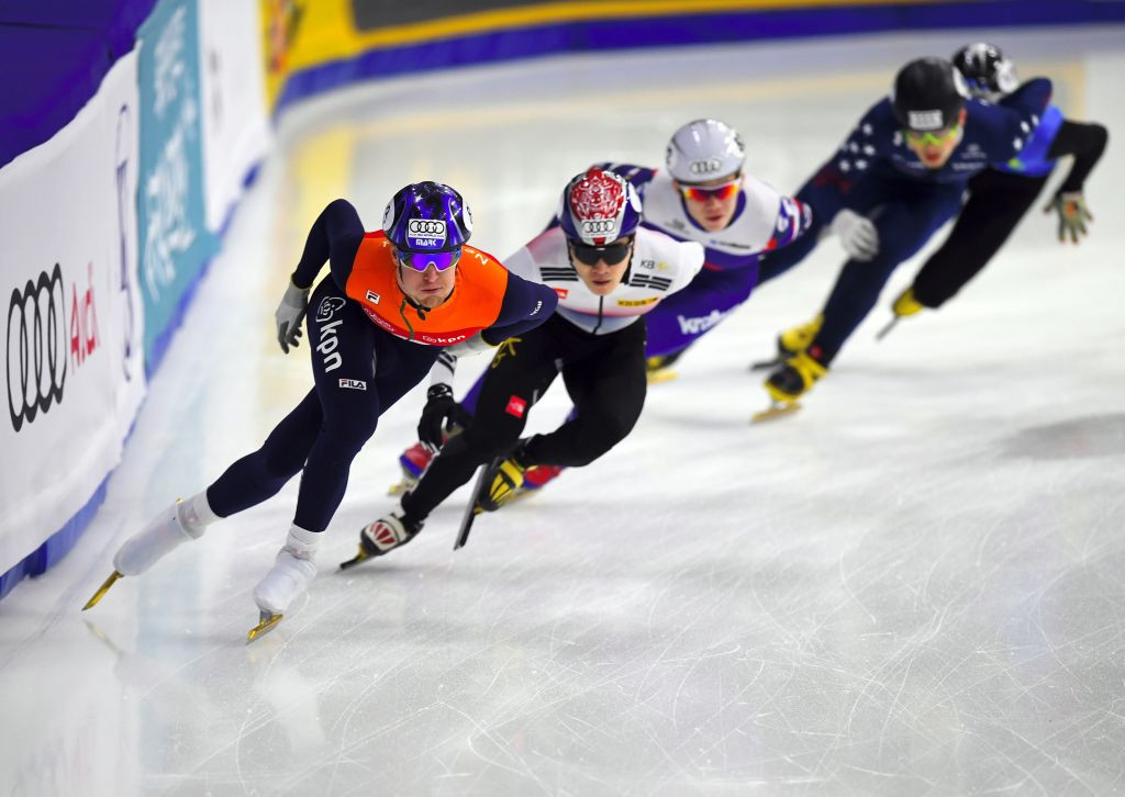 The World Short Track Speed Skating Championships have also moved location ©Getty Images