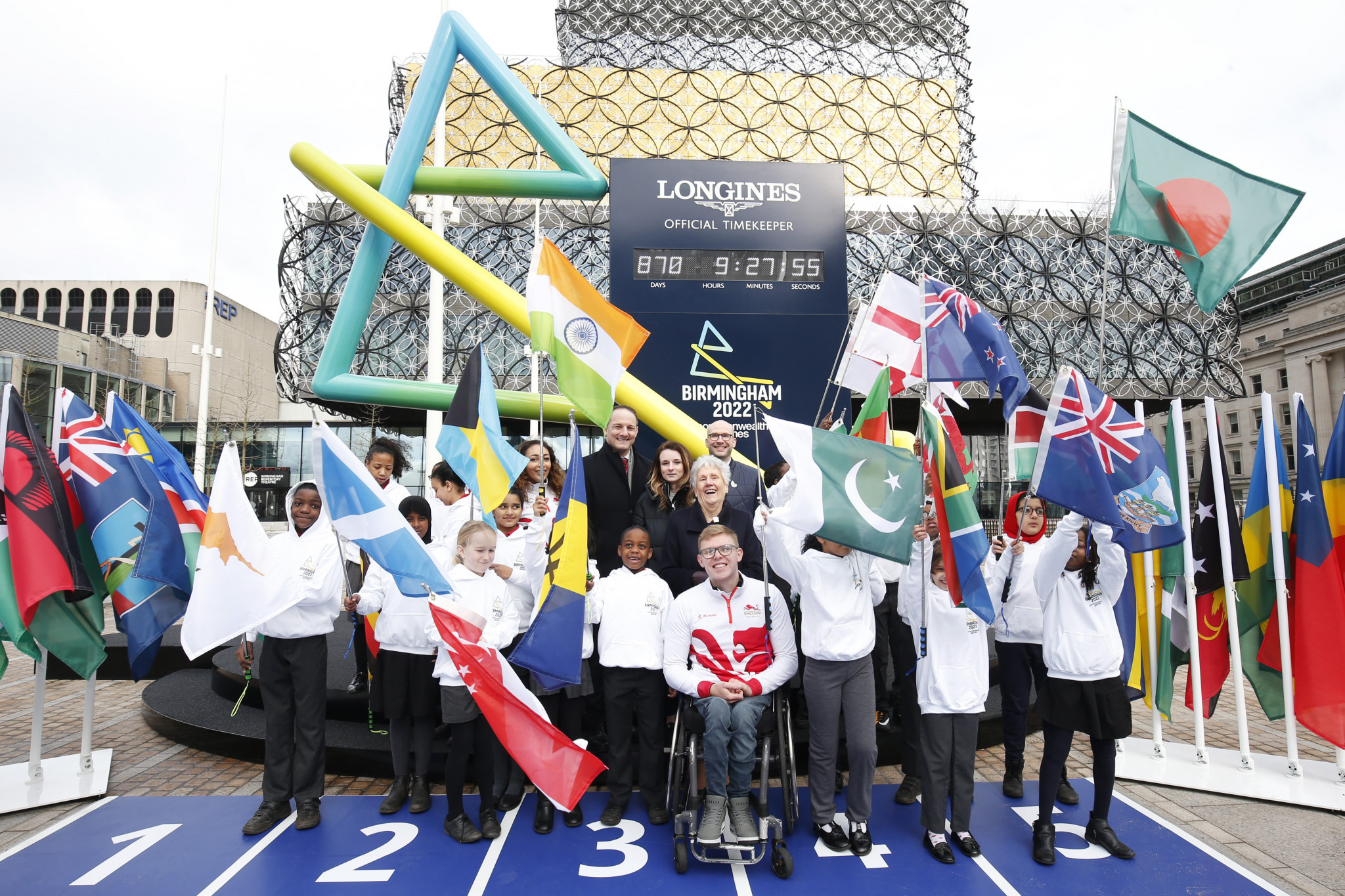 Birmingham 2022 has faced criticism over its lack of diversity on its Board of Directors and Executive Management team ©Getty Images