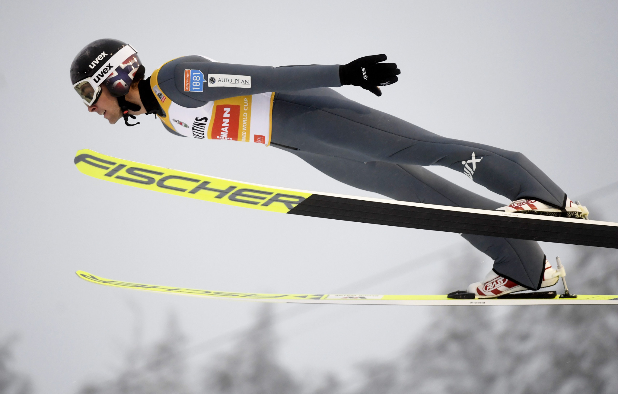 Jarl Magnus Riiber won 14 of the 17 World Cup events contested last year ©Getty Images