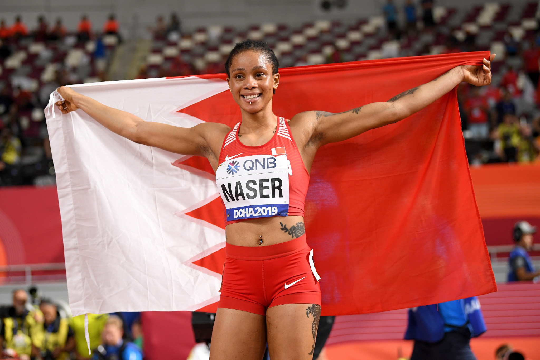 An appeal by the AIU against the sanction handed out to Bahraini athlete Salwa Eid Naser has been submitted to CAS ©Getty Images