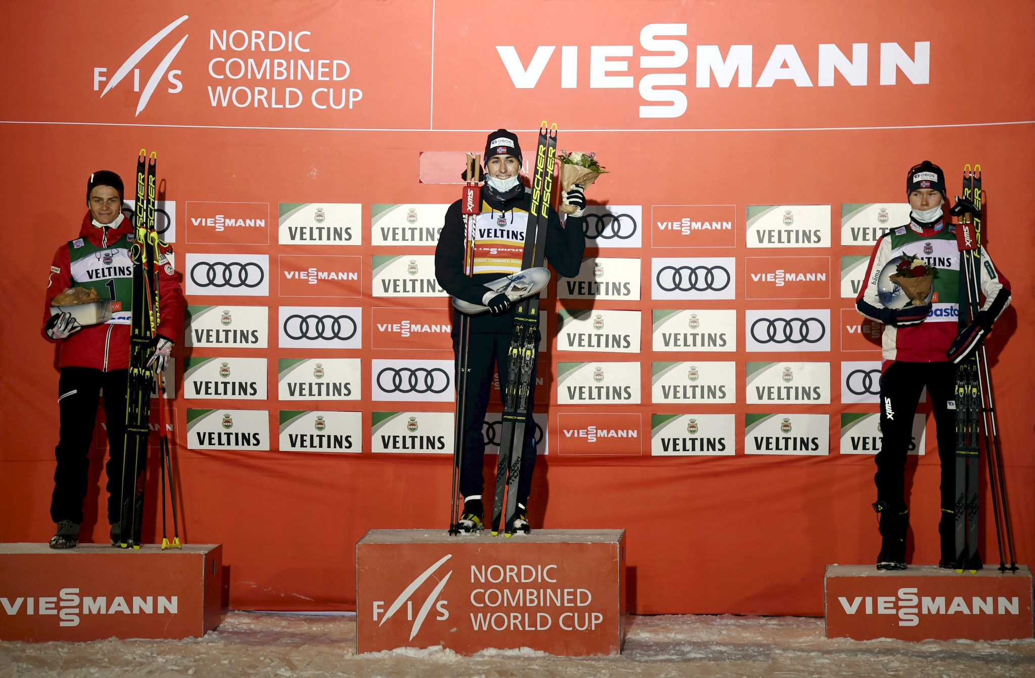 Riiber battles to victory at Nordic Combined World Cup opener in Ruka