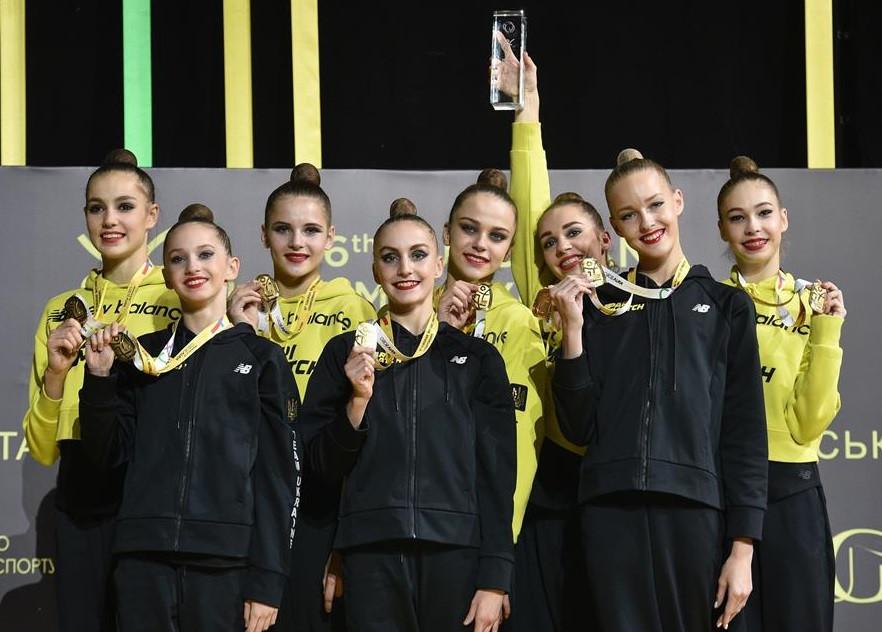 Israel clinch senior group title at Rhythmic Gymnastics European Championships