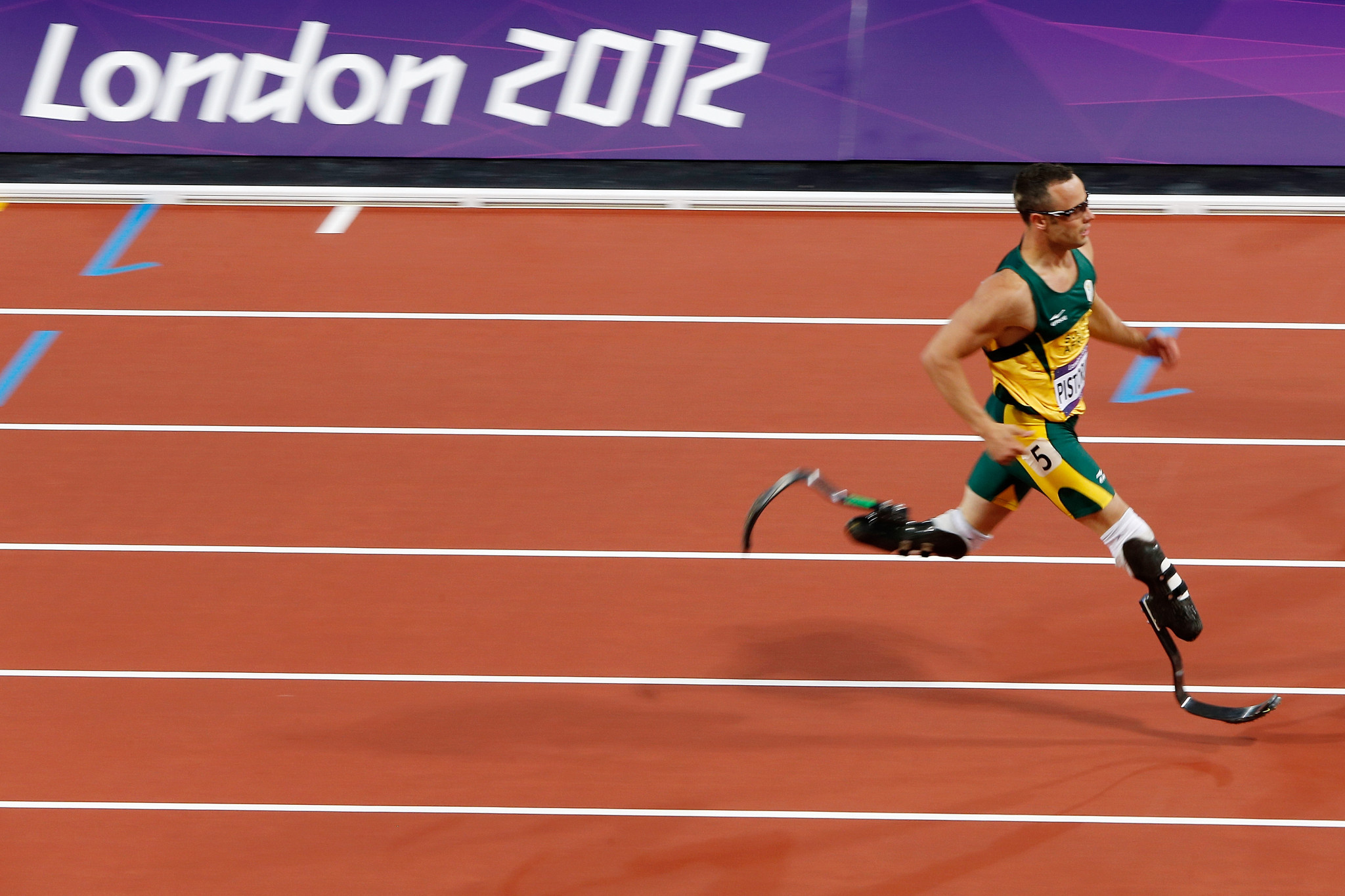 Oscar Pistorius was able to compete at the Olympics after CAS overturned an International Amateur Athletic Federation - now World Athletics - decision ©Getty Images
