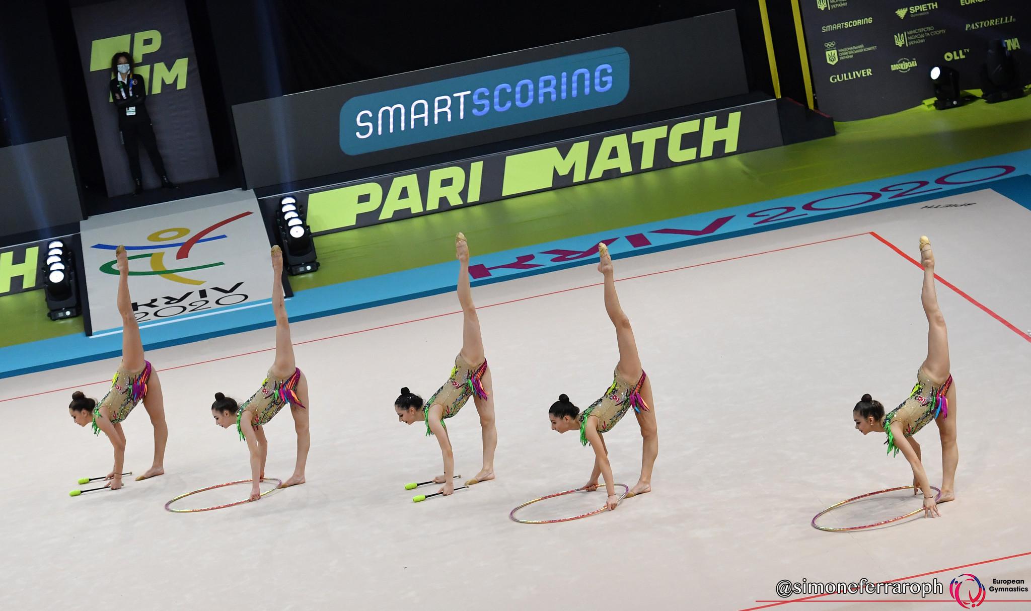 Turkey and Ukraine claim golds on day three of Rhythmic Gymnastics European Championships