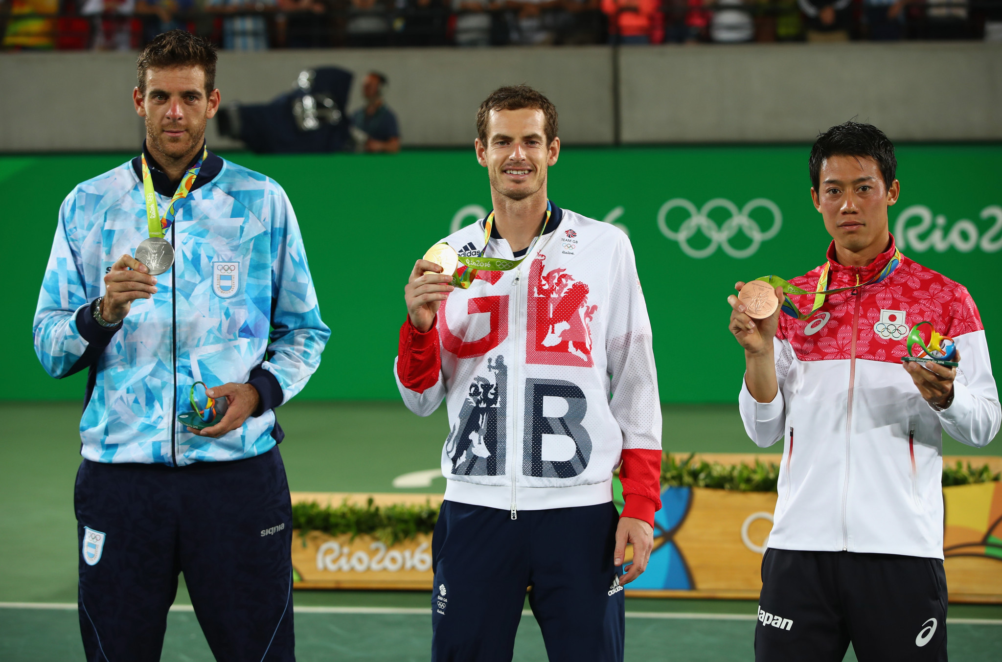 Andy Murray won the men's singles gold medal at London 2012 and Rio 2016 ©Getty Images