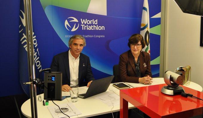 Casado re-elected World Triathlon President