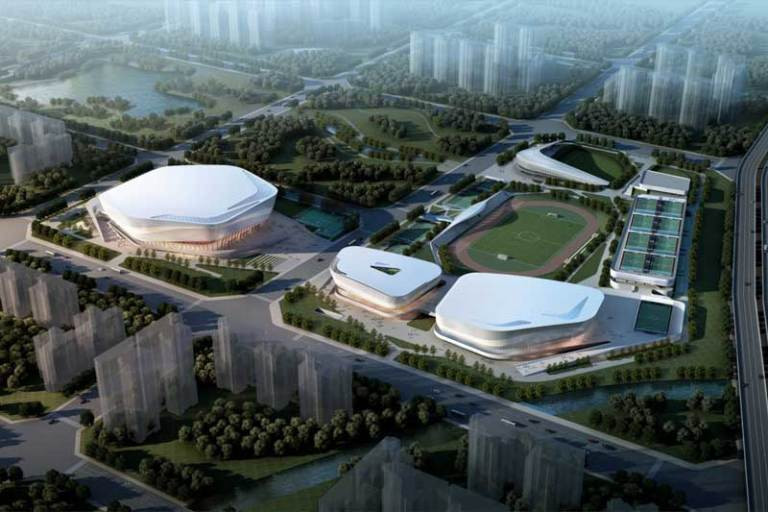 Chengdu, set to host next year's Summer World University Games, and Chongqing are discussing bidding for the 2032 Games ©Chengdu 2021