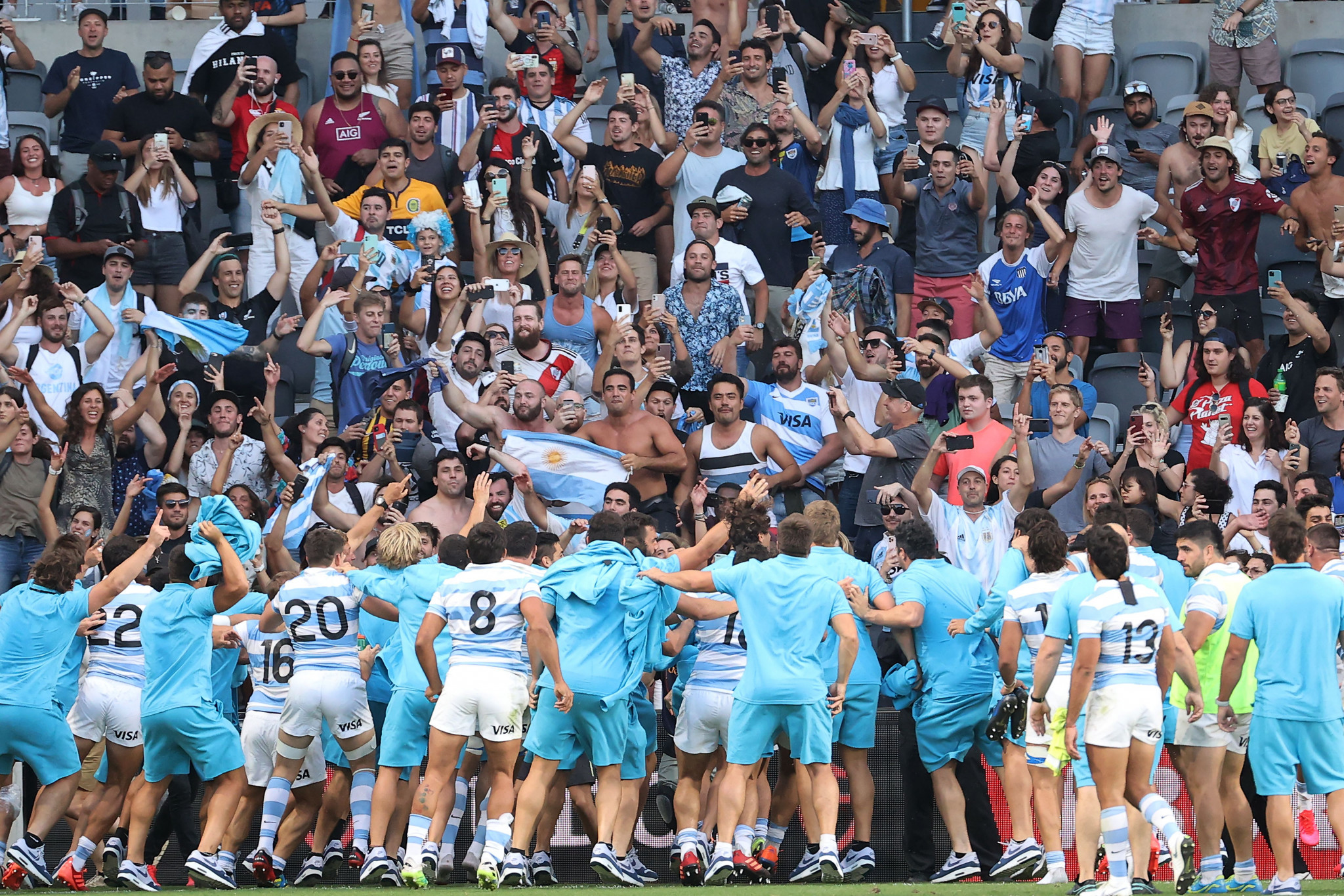 The news sours a successful period for Argentinian rugby which included a famous win over New Zealand ©Getty Images