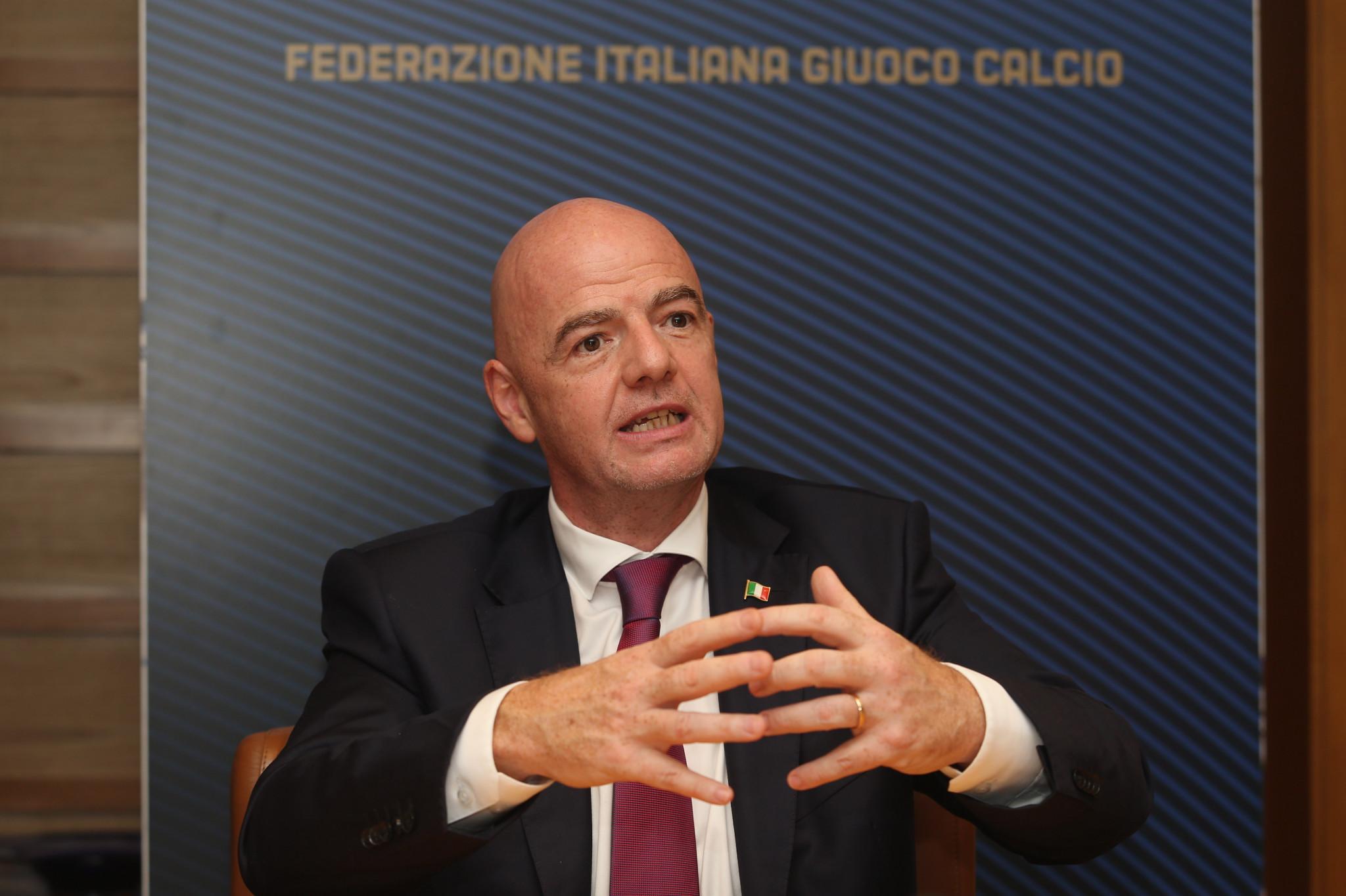 FIFA President Gianni Infantino has said the establishment of the Global Integrity Programme is