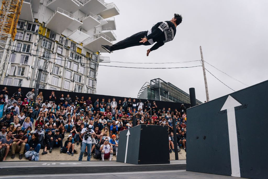 A proposal from gymnastics to include parkour at Paris 2024 has been met with criticism ©Getty Images