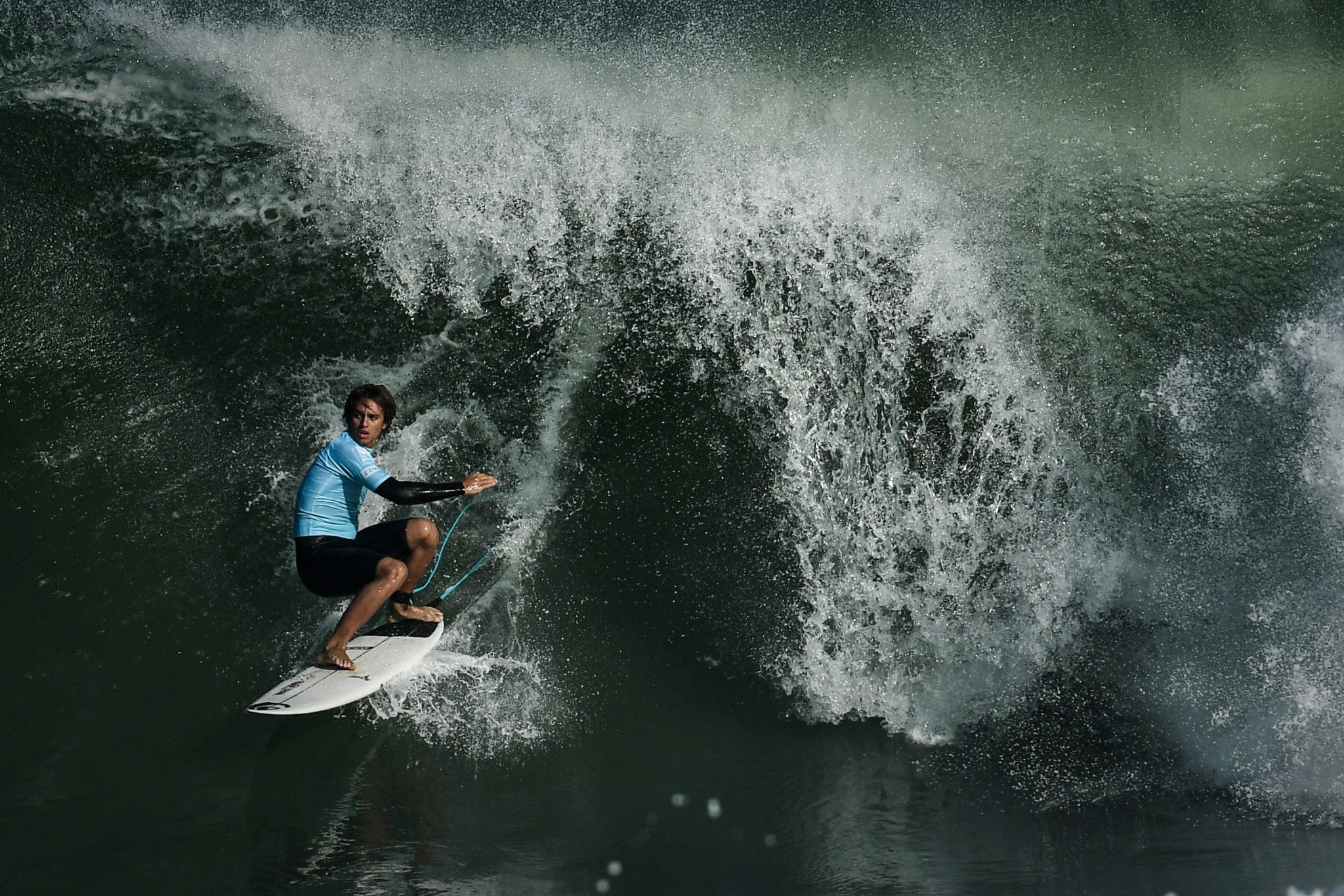 Olympic Agenda 2020 has allowed Paris 2024 to propose Tahiti as its destination for surfing  ©Getty Images