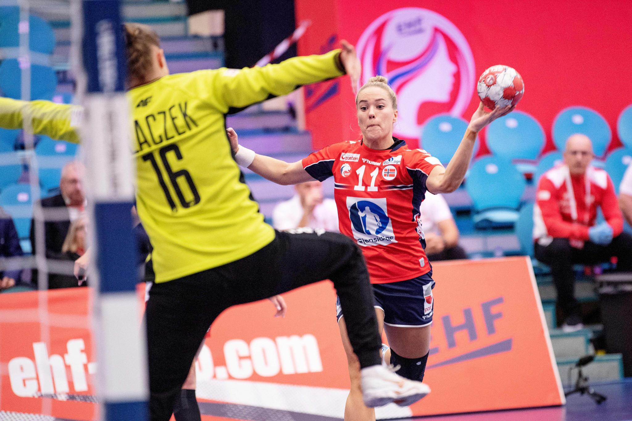 Olympic champions Russia make winning start at European Women's Handball Championship
