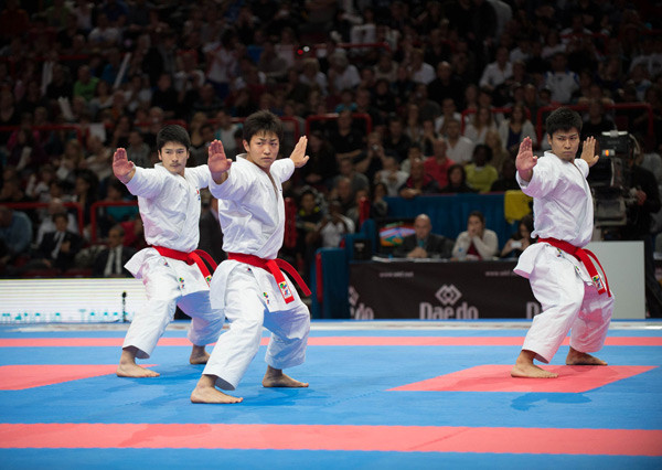 Karate athletes will face strict COVID-19 guidelines when WKF events resume in 2021 ©Getty Images