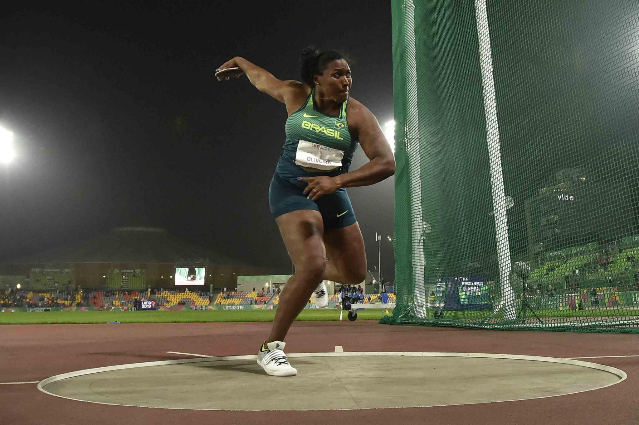 Brazilian discus thrower De Morais serves 16-month doping ban