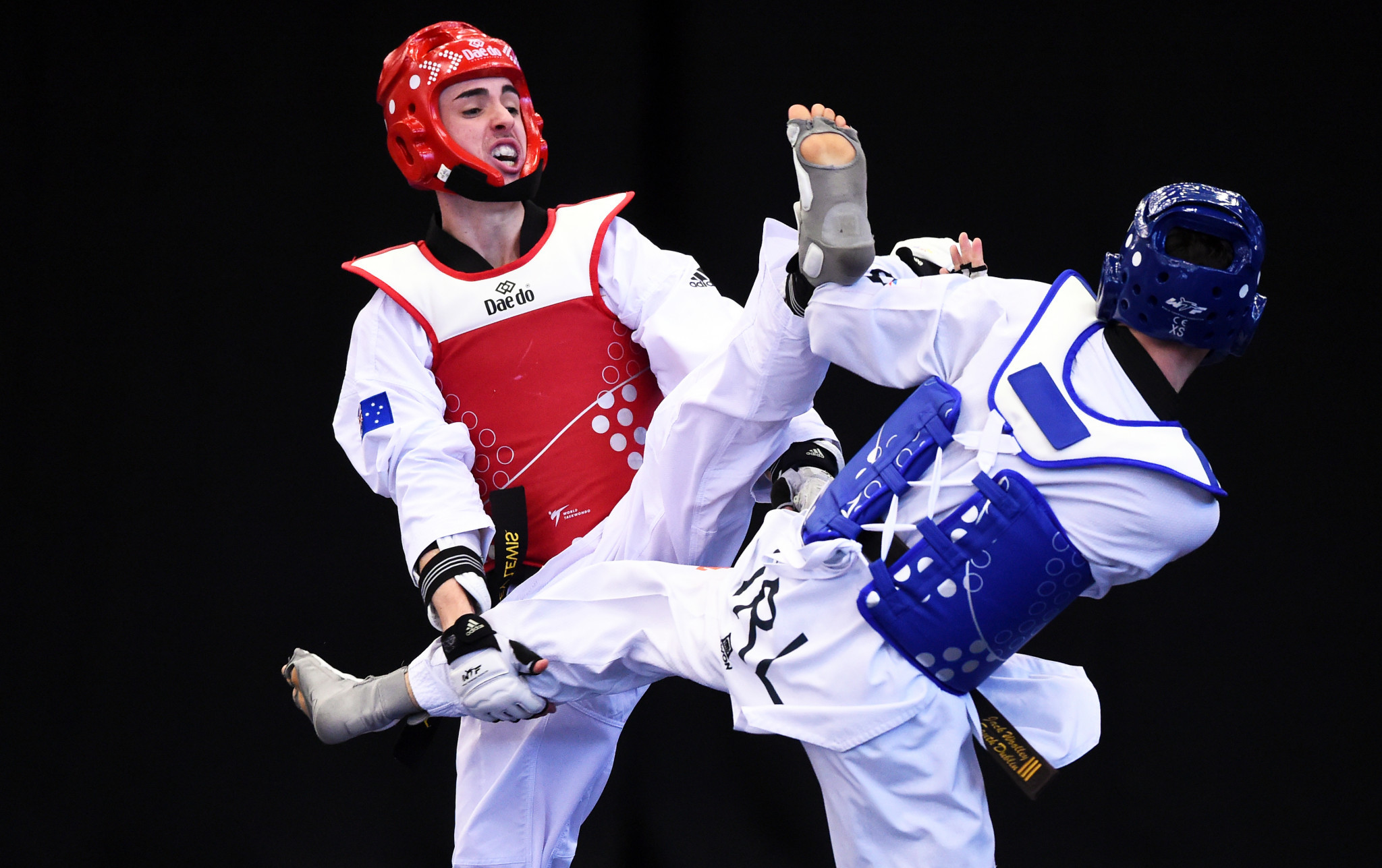 Australia has won one gold and one silver at the Olympics in taekwondo ©Getty Images
