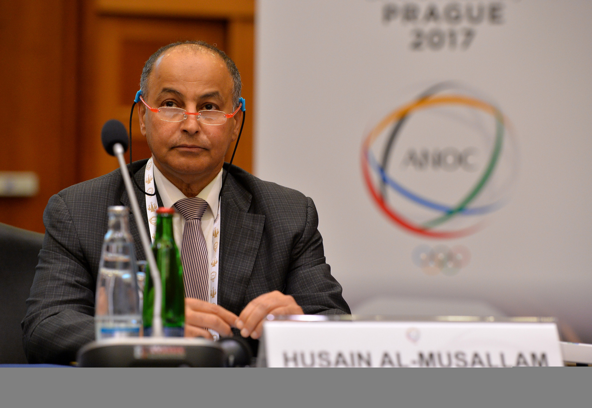 Husain Al-Musallam is in the running to become FINA President ©Getty Images