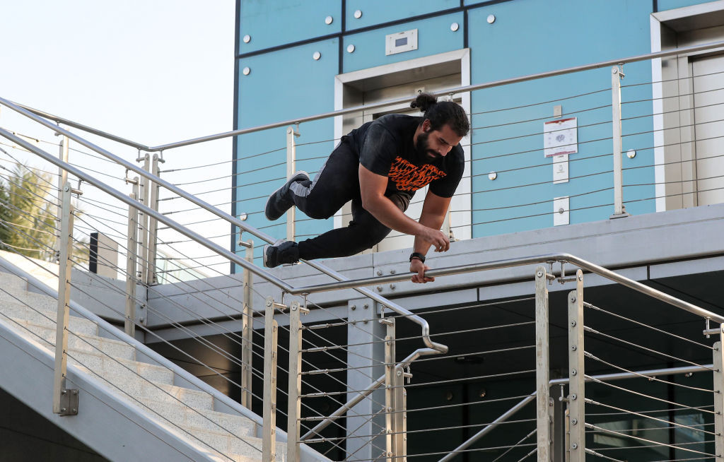 Parkour is among the new events being proposed for inclusion at Paris 2024 ©Getty Images